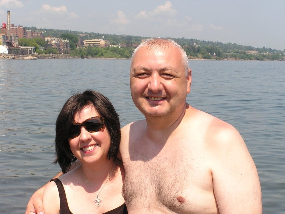 Luiza and Larry Carcoana