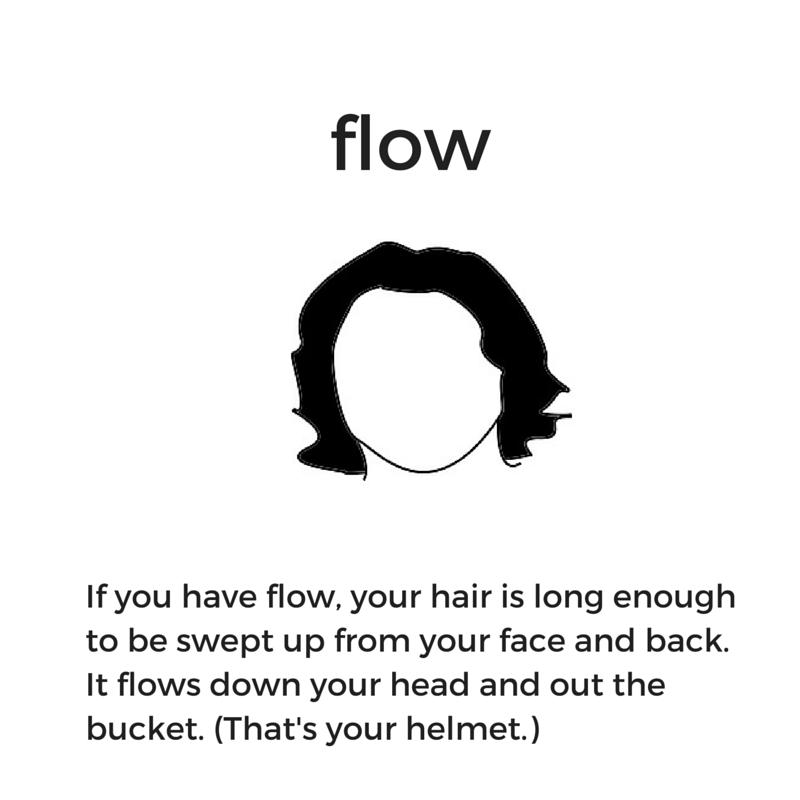 Hockey hair: What is flow?