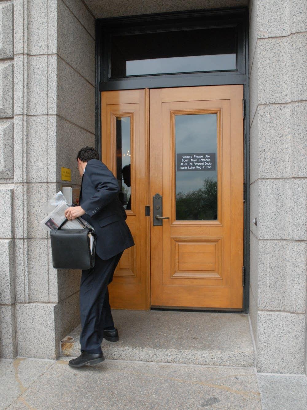 Capitol security door