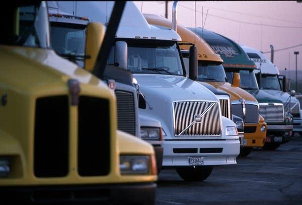 Trucks in Texas