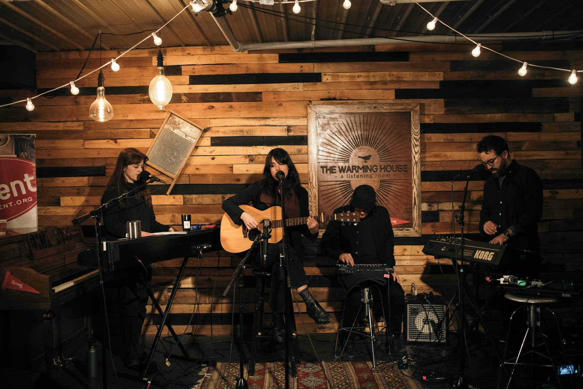 Sharon Van Etten performs a MicroShow at the Warming House in Minneapolis |  The Current