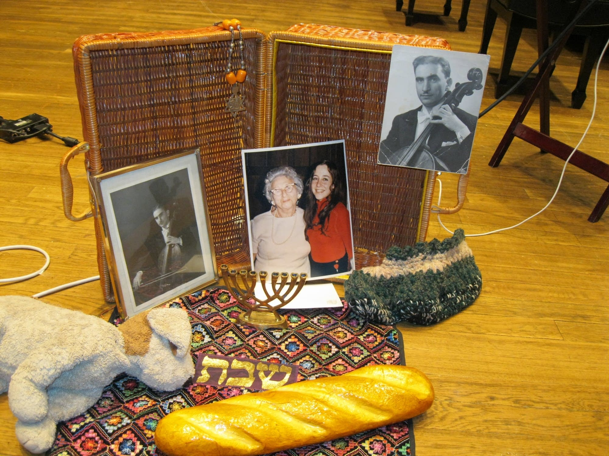 Janet Horvath's mementos of her parents.