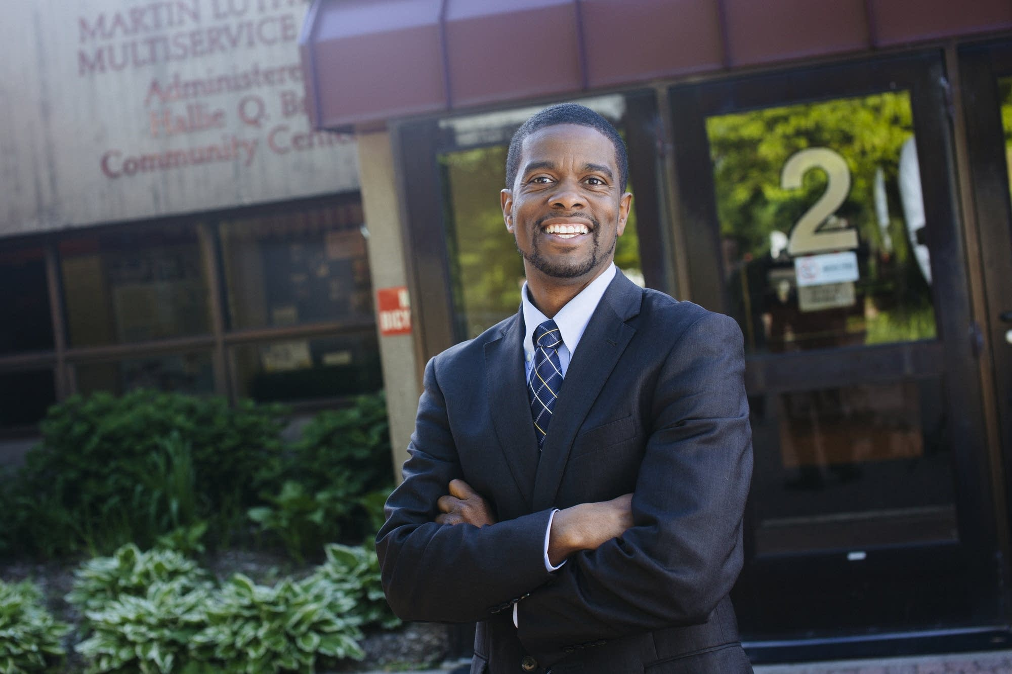 St. Paul mayoral candidate Melvin Carter