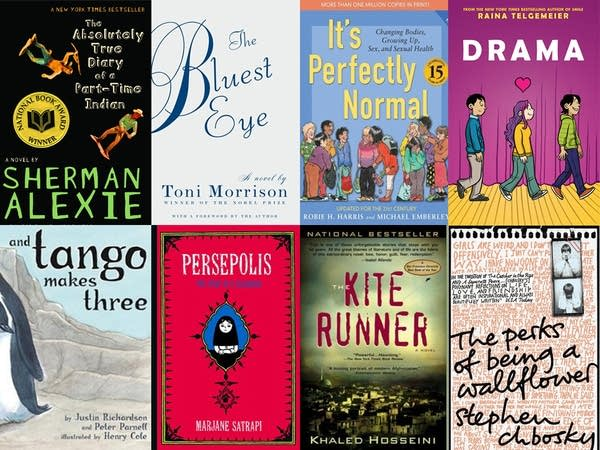 The most frequently challenged books
