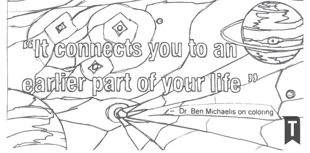 Dr Ben Michaelis On The Benefits Of Coloring Book