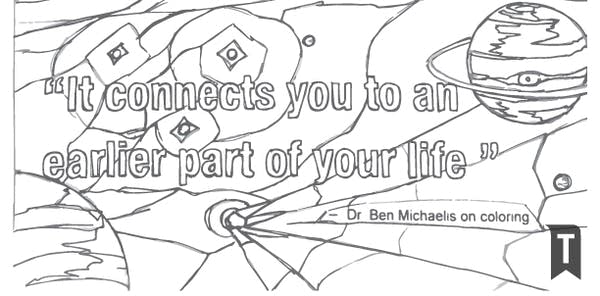 Dr. Ben Michaelis on the benefits of coloring book
