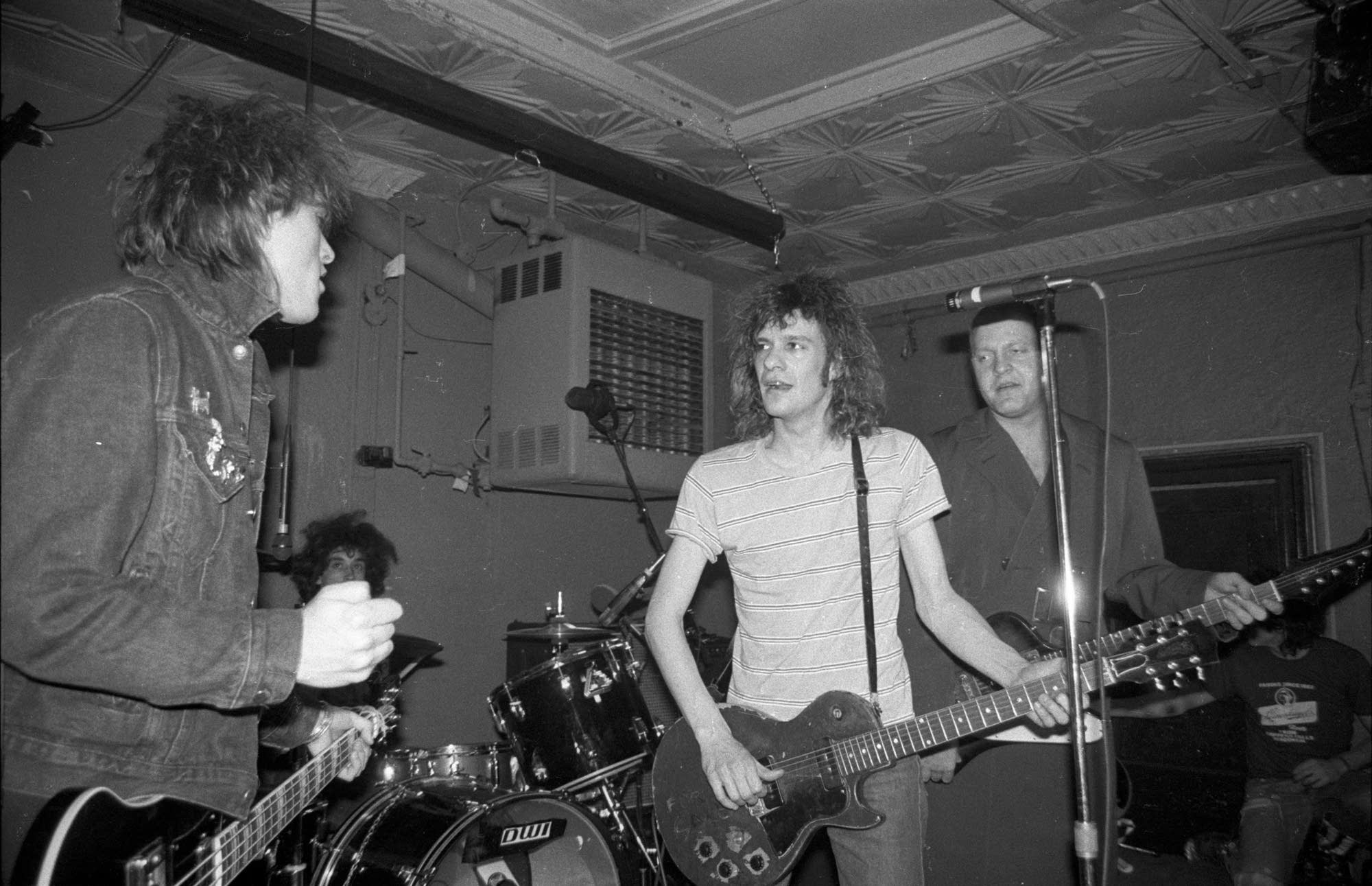 The Replacements perform at Maxwell's in 1986
