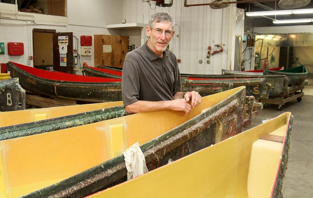 Mike Cichanowski, owner of Wenonah Canoe