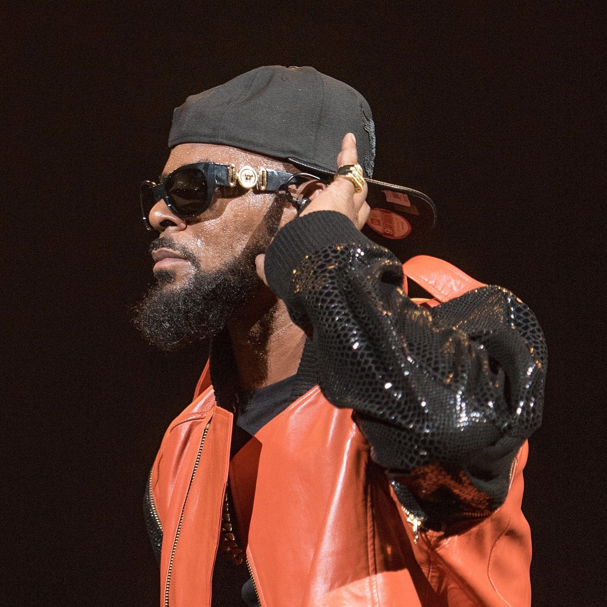 R. Kelly performs in Brooklyn, 2015.