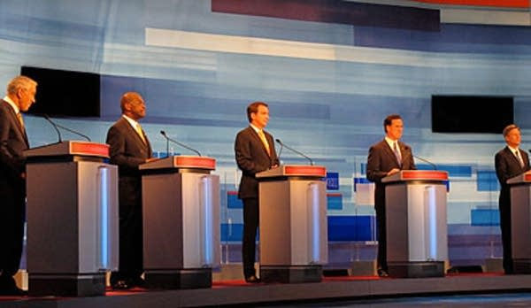 The first Republican debate of the primary season