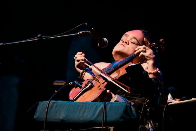Gaelynn Lea opens for the Decemberists at the Palace Theatre