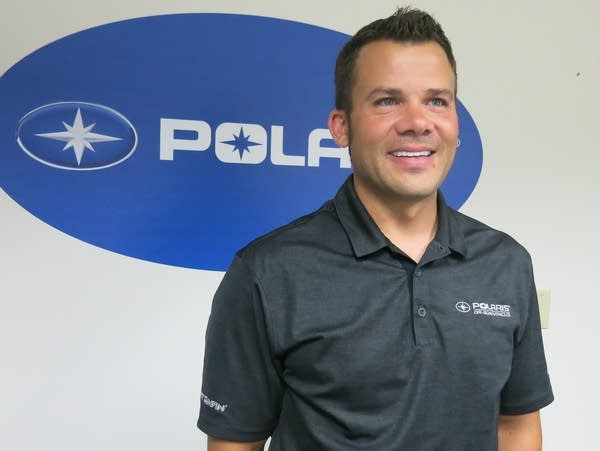 Josh Broten is an assembly line engineer at the Polaris ATV factory.