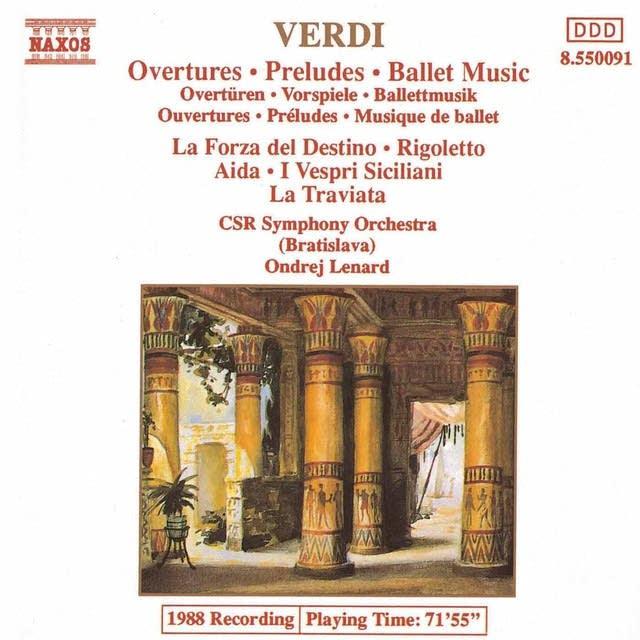Giuseppe Verdi - I Vespri Siciliani: Winter Naxos 8.550091