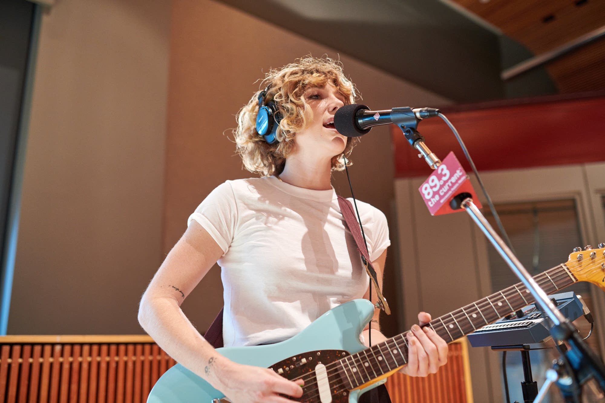 Your Smith performs in The Current studio