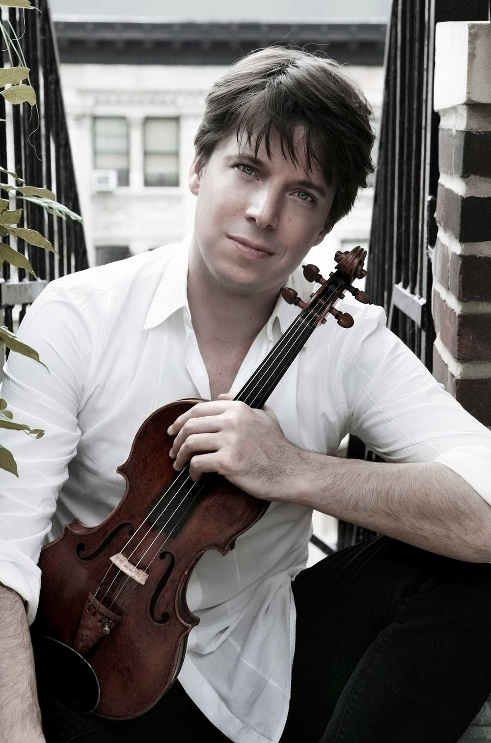 In studio with Joshua Bell and Sam Haywood | Classical MPR