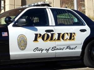 St. Paul police squad car