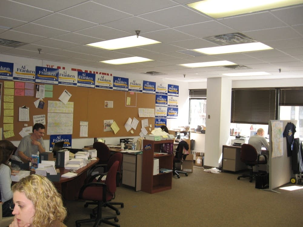 Franken's campaign office