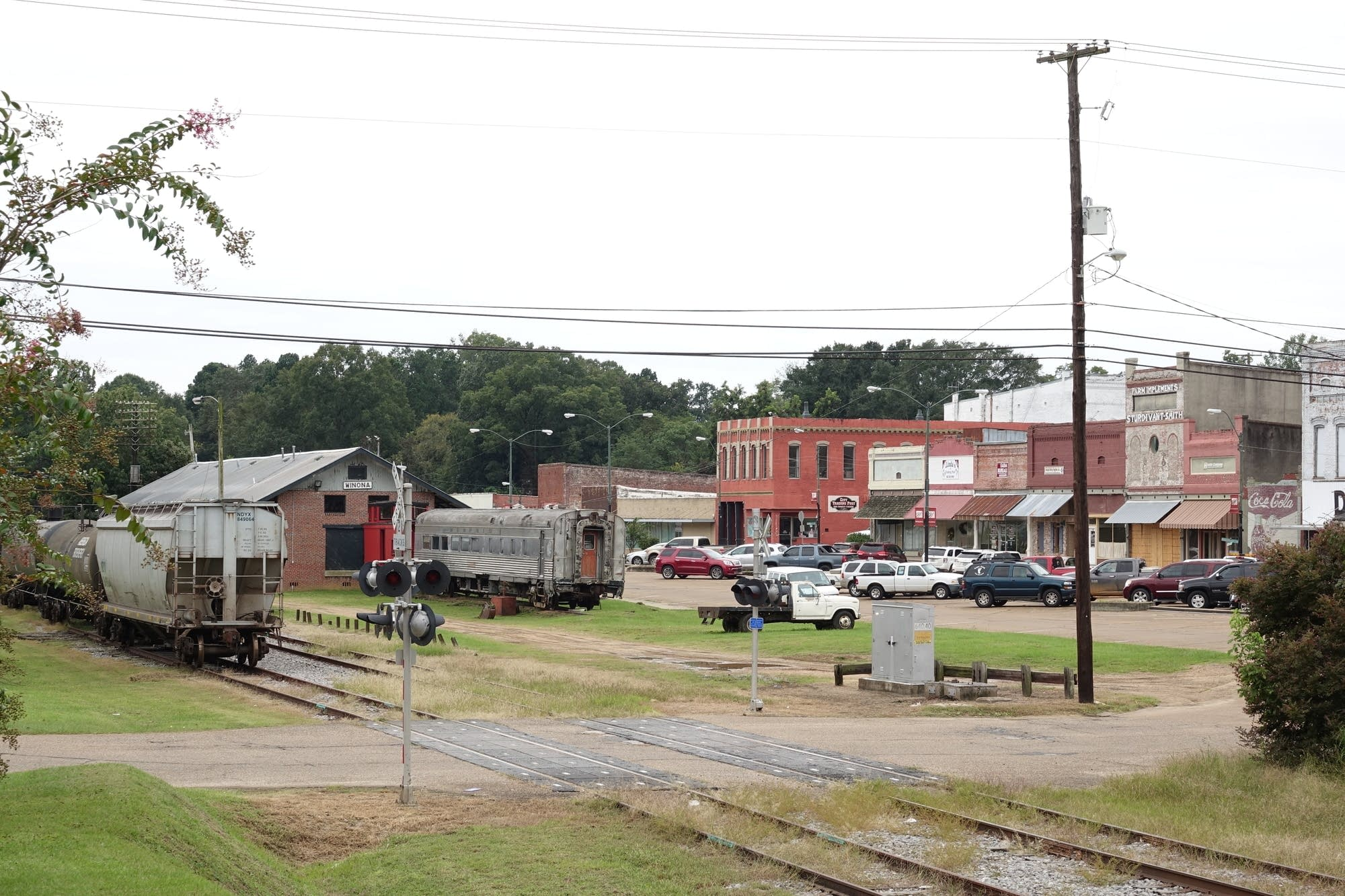 Downtown Winona, Mississippi