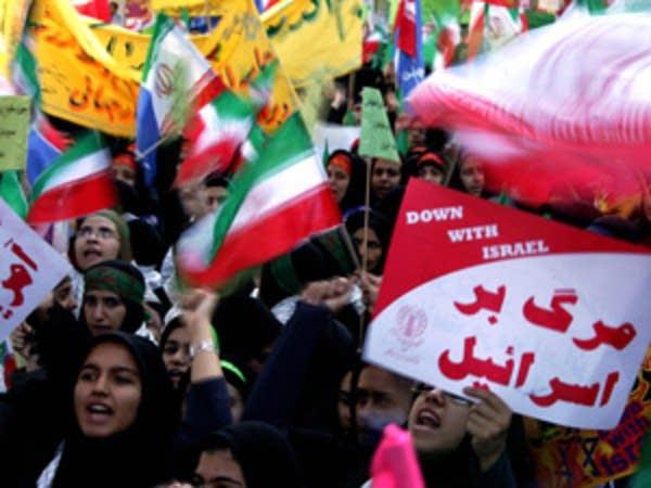 Iran protests USA
