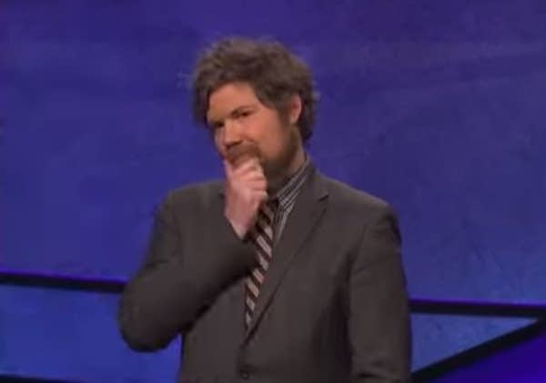 """Jeopardy!"" contestant Austin Rogers."