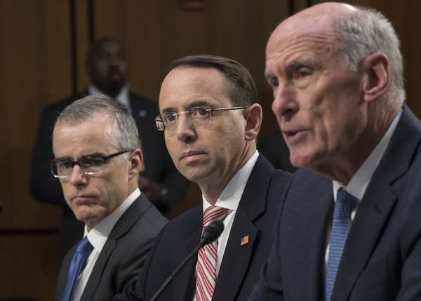 Senate Intelligence Committee hearing.