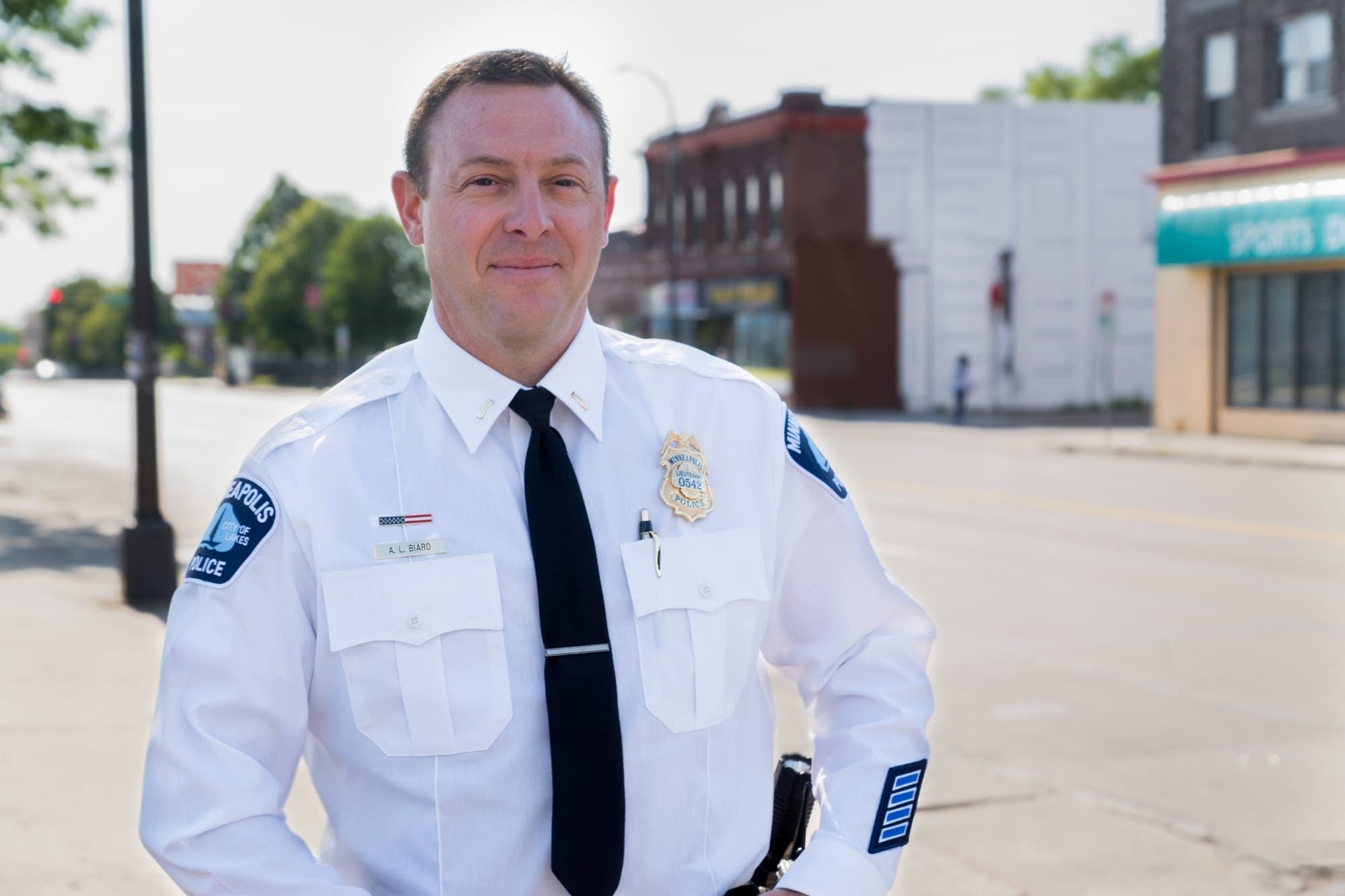 Former Chief Harteau appointed Biard as the new 4th Precinct Inspector.