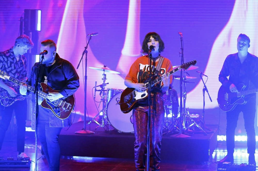 Of Monsters and Men perform on 'The Tonight Show'