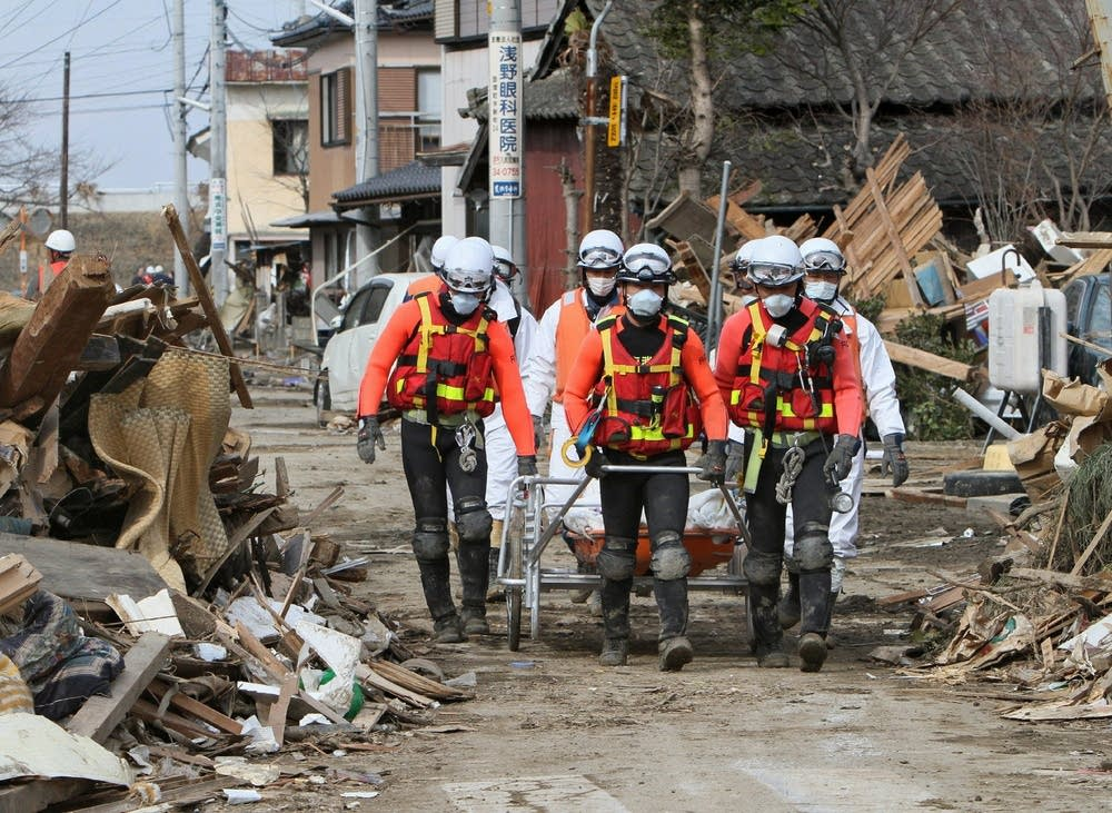 Japanese rescue team