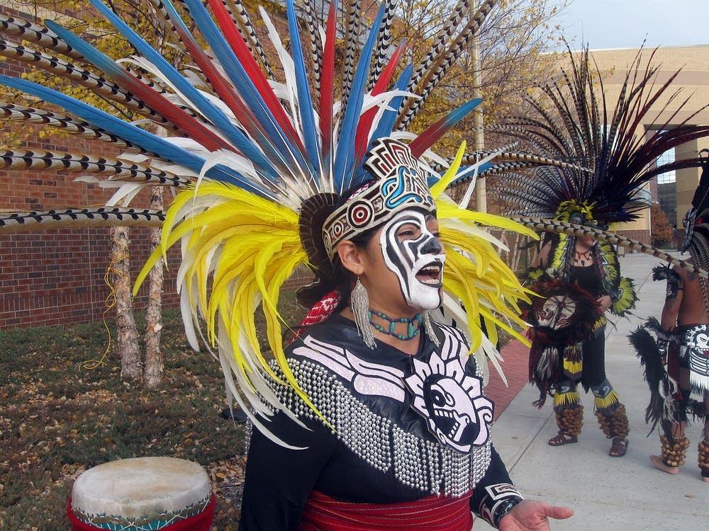 Ketzal Coatlicue Aztec Dancers