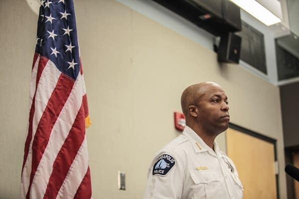 Police Chief Medaria Arradondo talks about the latest in body camera.