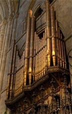 1905–1935 Harrison at Durham Cathedral, England