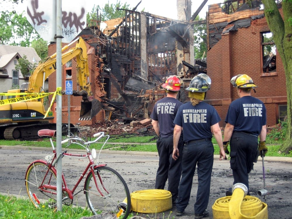 Minneapolis firefighters