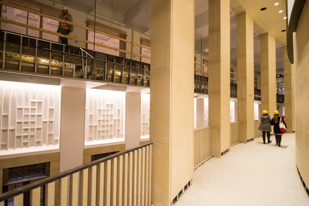 An interior Northrop Auditorium space