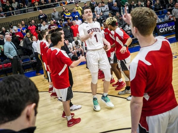 John Marshall-Lakeville North Boys Basketball Section 1AAAA Championship