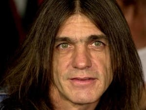 Malcolm Young, of AC/DC, in 2000.