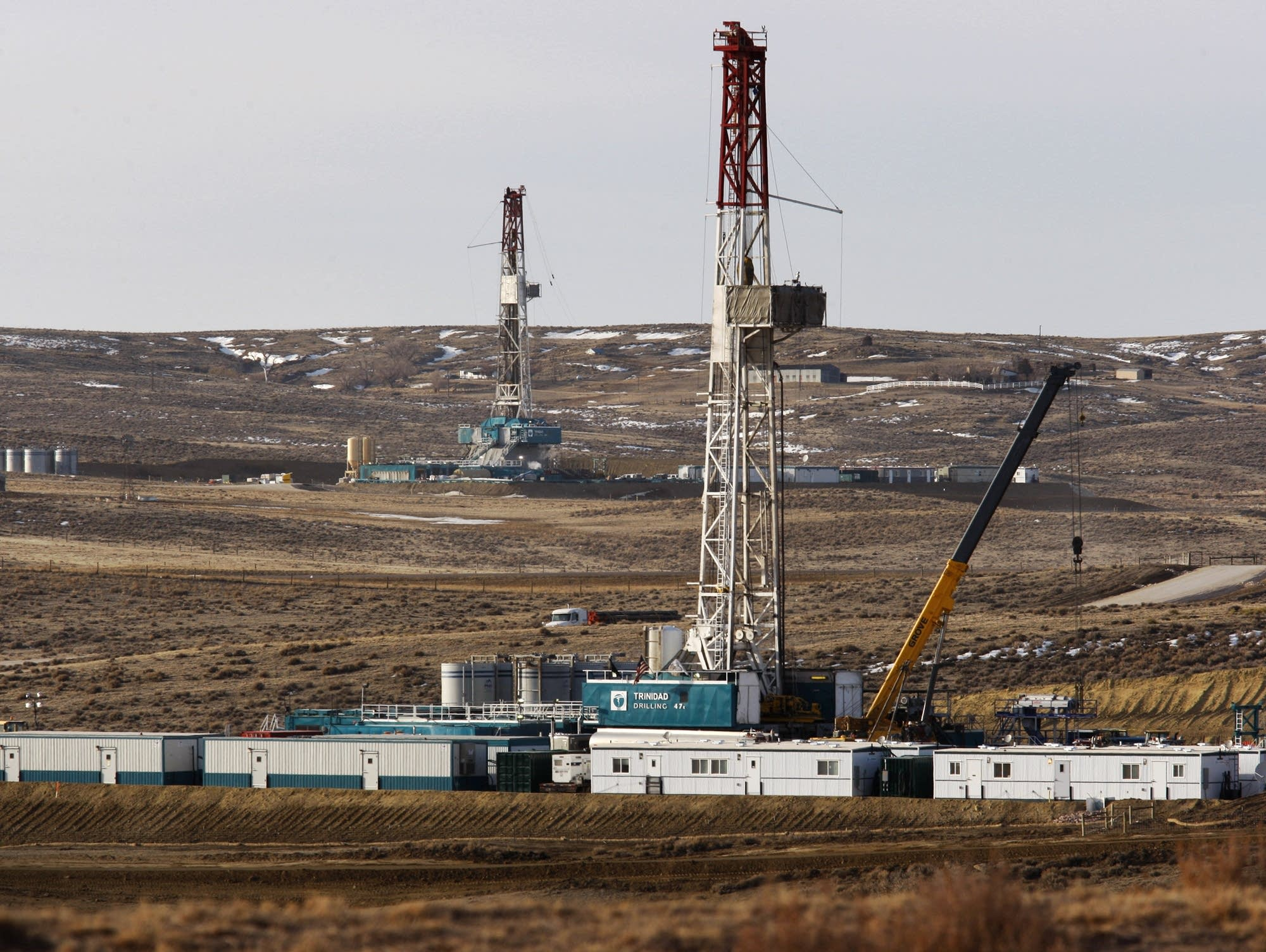 Trinidad Drilling rigs in Wyoming