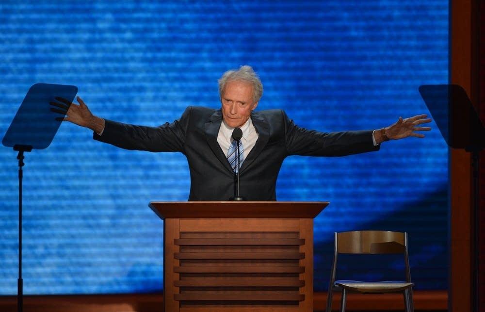 Actor-director Clint Eastwood