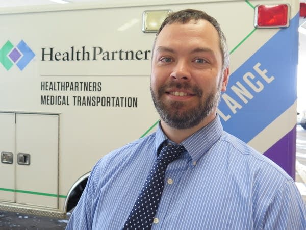 Dr. Aaron Burnett oversees its community paramedic program.