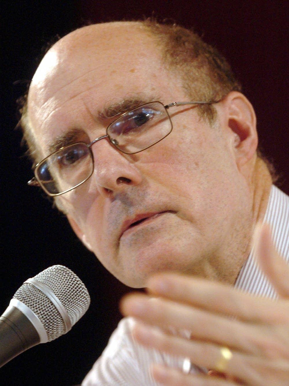 Former US Deputy Secretary of State Strobe Talbott