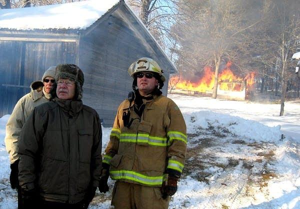Eric Kerska as firefighter