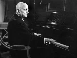 Finnish composer Jean Sibelius