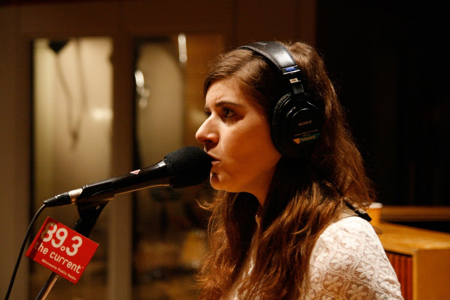 best coast perform in the current studio the current