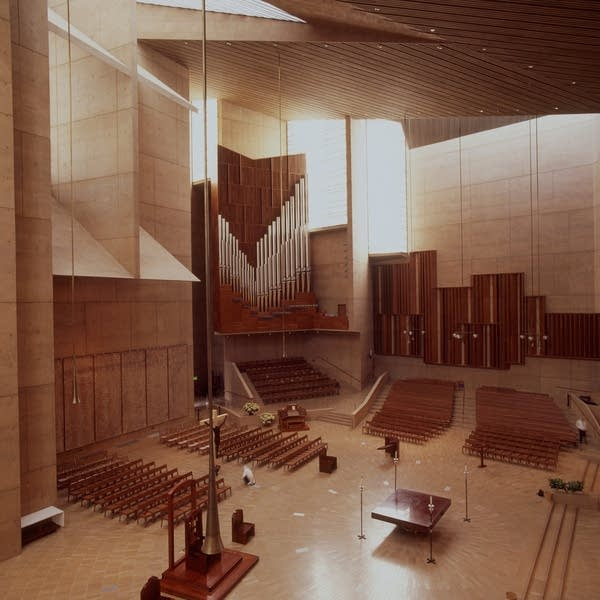 2003 Dobson at the Cathedral of Our Lady of the Angels, Los Angeles, CA.