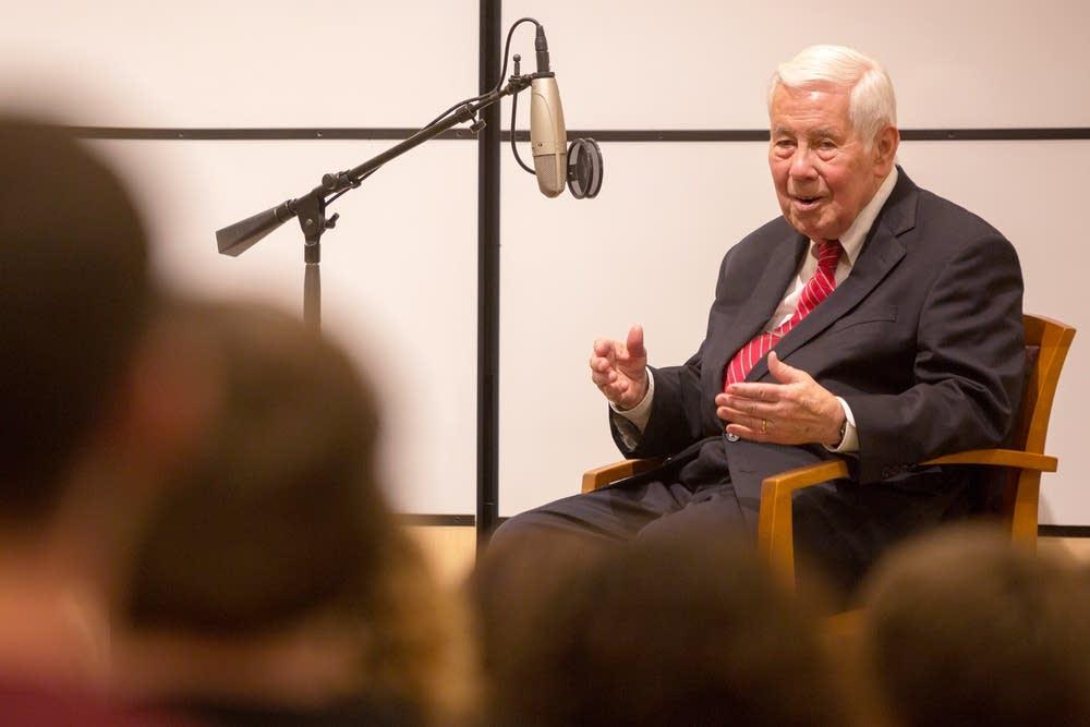 Former U.S. Sen. Richard Lugar