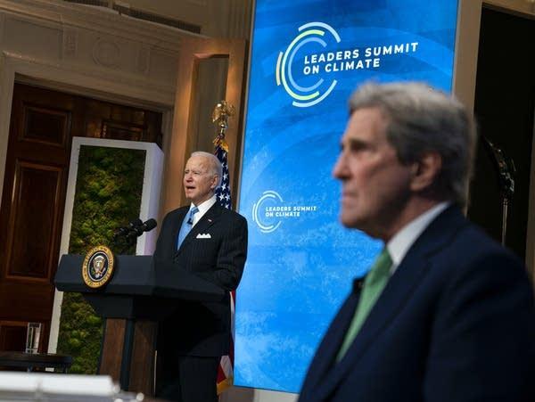 President Joe Biden and Special Presidential Envoy for Climate Jonn Kerry