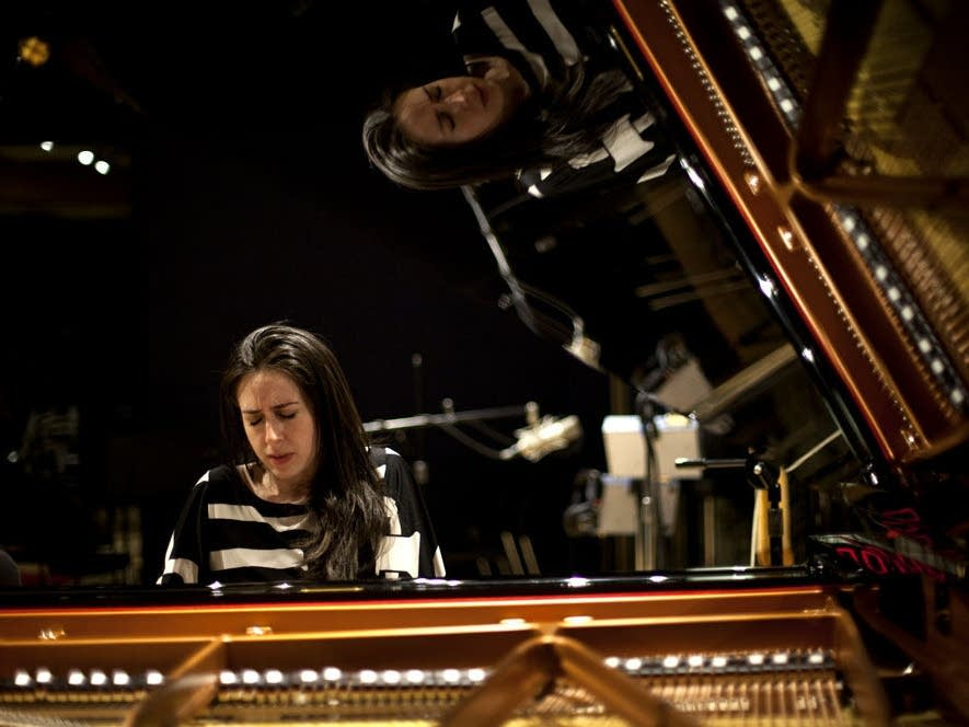 Pianist Vanessa Perez performs at NPR