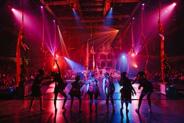 Each summer Circus Juventas stages a major production in St. Paul.