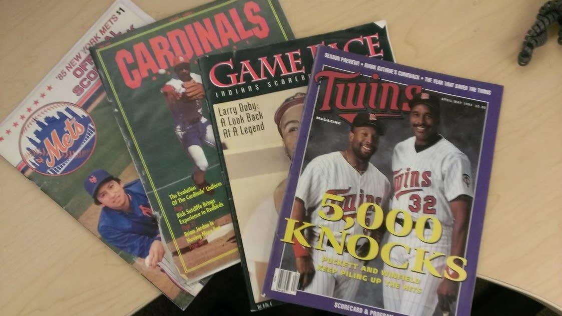 The Lost Art Of The Baseball Scorecard Newscut Minnesota Public Radio News