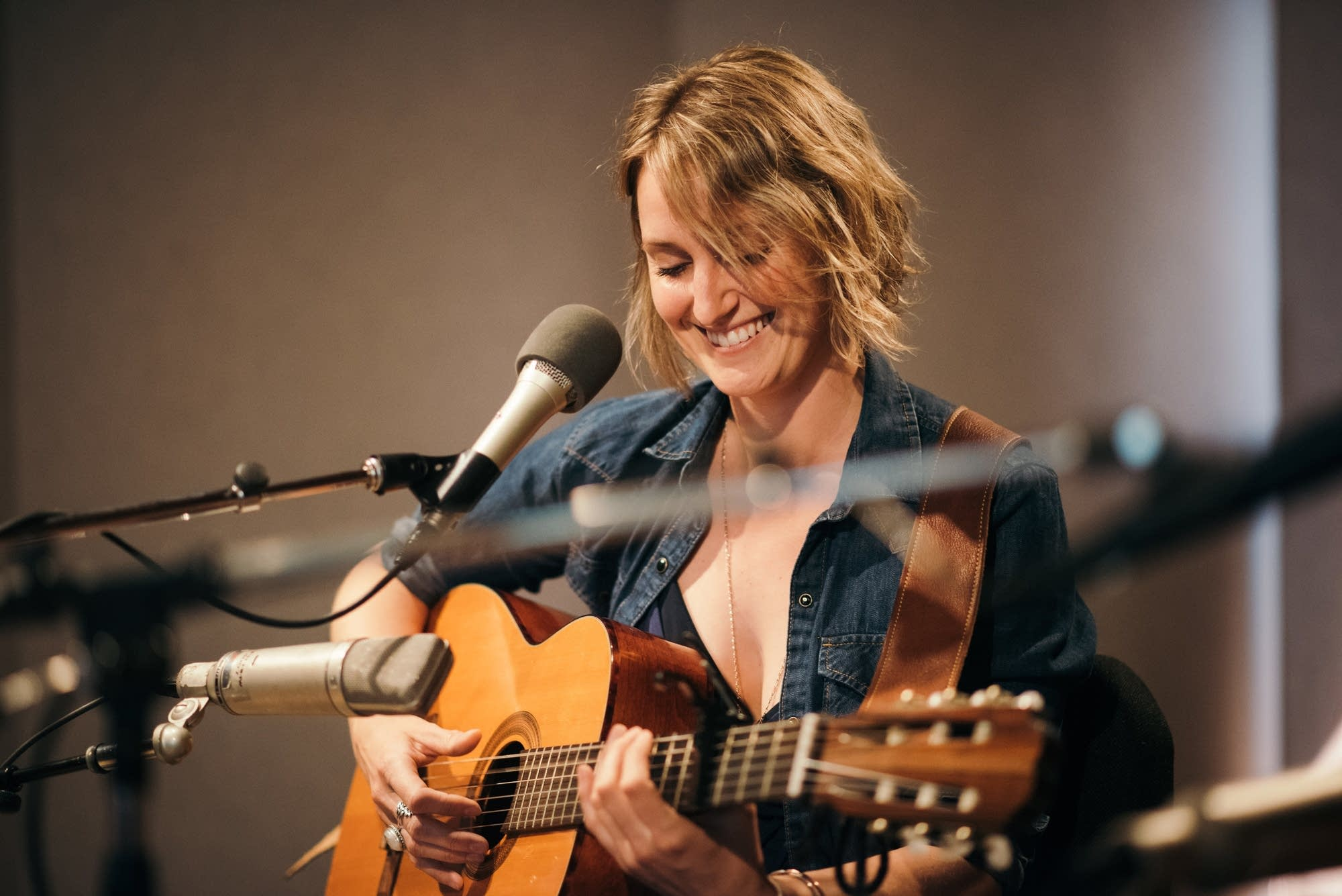 Joan Shelley performs at Radio Heartland