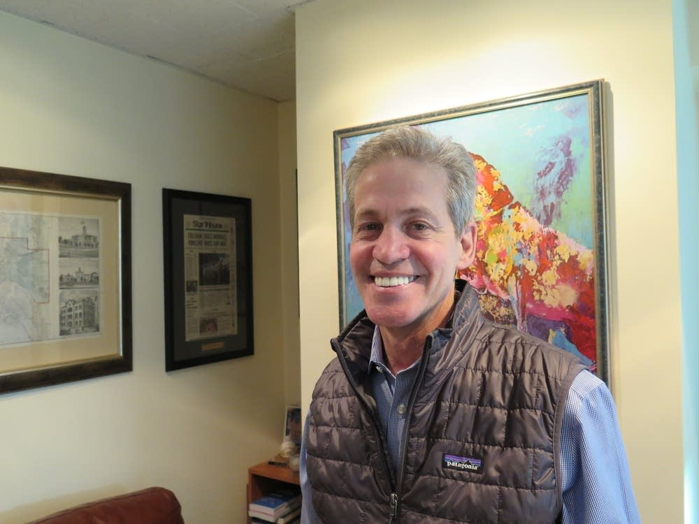 Norm Coleman at his D.C. office